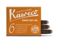 Kaweco Tintenpatronen 6er Pack Sonnenorange Sunrise orange